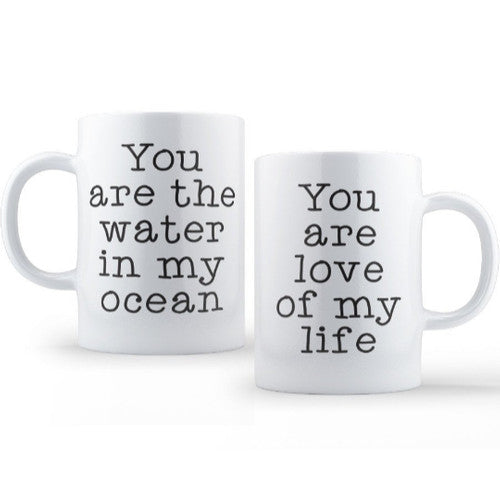 'Water In My Ocean' Tea or Coffee Mug~ 15oz