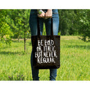 'Be Bold' Canvas Tote
