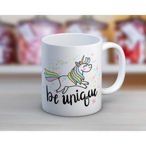 'Be Unique' Tea or Coffee Mug ~11oz
