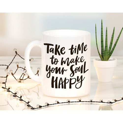 'Take Time' Mug ~Tea or Coffee 15oz