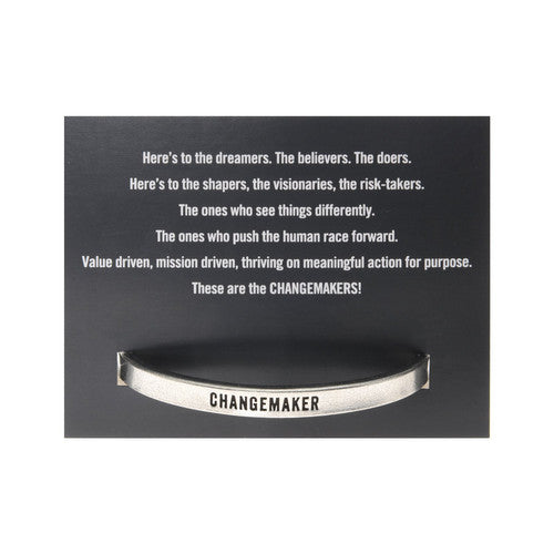 Changemaker Dreamer-Believer-Doer Quotable Cuff