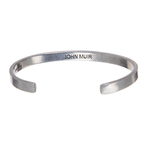 The Mountains Are Calling -John Muir Quotable Cuff