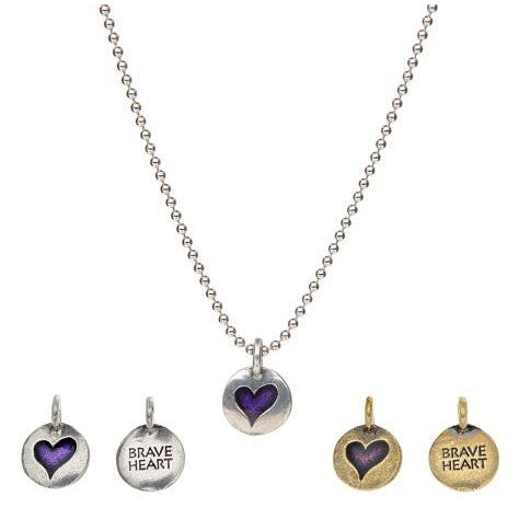 Brave Heart - 'Hearts Of Gold' Necklace