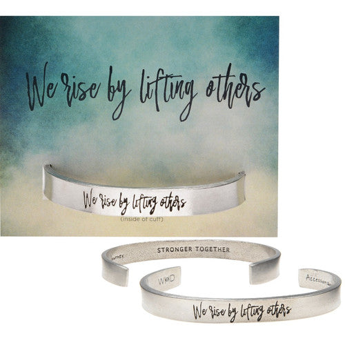 We Rise Quotable Cuff
