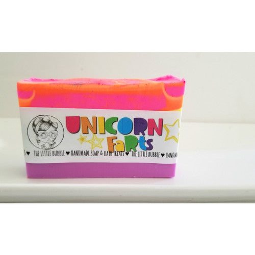 'Unicorn Farts' ~ Handmade Soap
