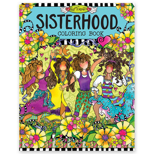 'Sisterhood' Creative Coloring Book