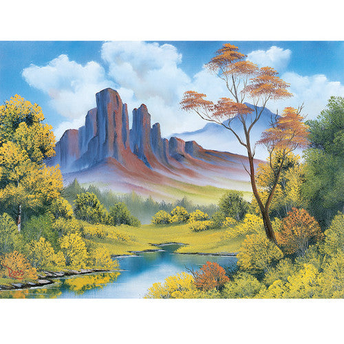 Bob Ross Puzzle - Fall 500 Pieces