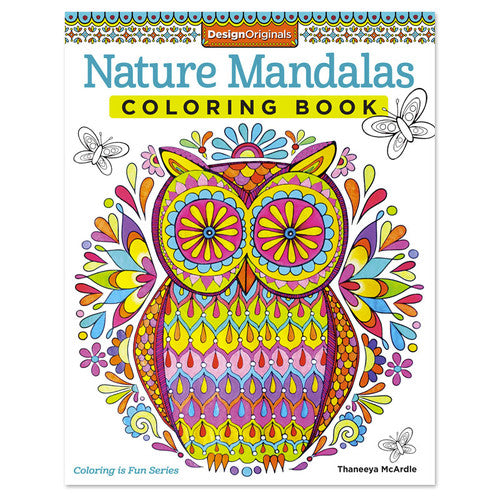 'Nature Mandalas' ~ Creative Coloring Book