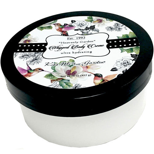 Heavenly Garden Whipped Body Creme 16 oz