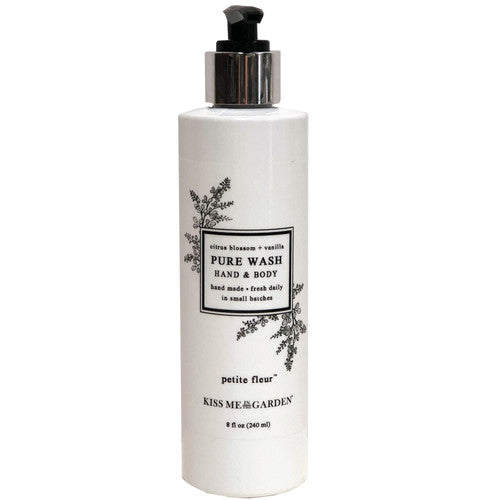 Petite Fleur Hand and Body Wash 8 oz