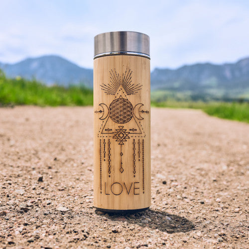 Bamboo LOVE' Infuser Bottle~450 mL