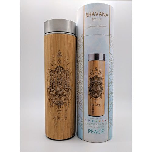 Bamboo PEACE  Infuser Water Bottle~500mL