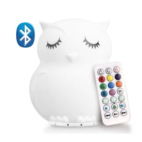 Lumipets Owl Bluetooth Night Light Speaker