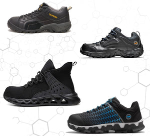 TOP 4 Most Comfortable Safety Shoes (Complete Buying Guide with Highlighted Features)