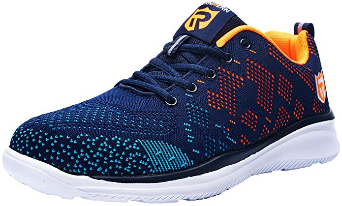 LARNMERN Lightweight Breathable Casual Protection Footwear