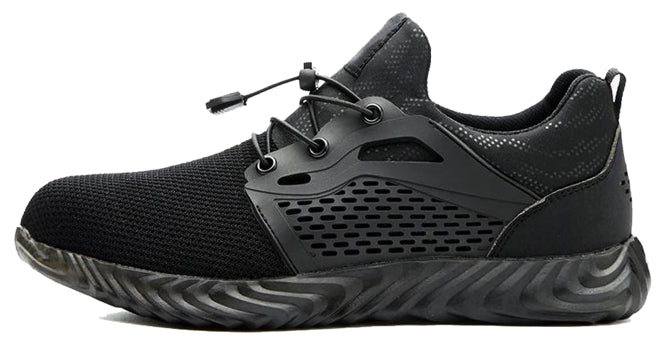 RACER Series Black - Powerful Gear Safety Shoes