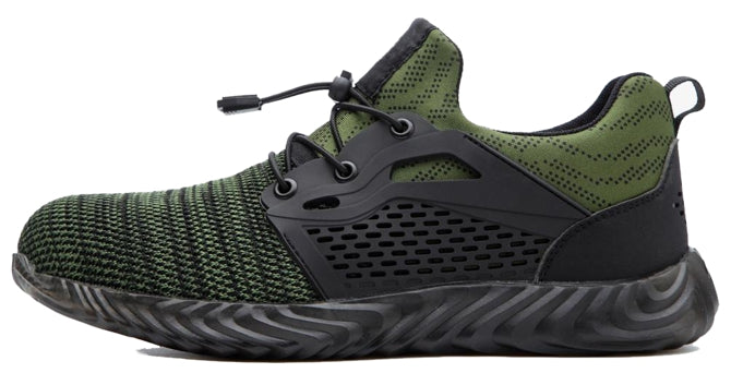 RACER Series Green - Powerful Gear Safety Shoes