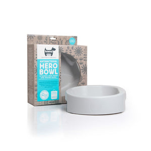 HERO Bowl Urban Grey Large 23cm (1000ml) - Hownd