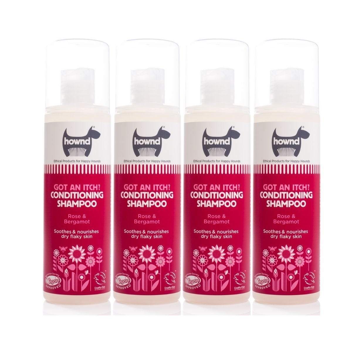 Got An Itch? Conditioning Shampoo (250ml) x 4 - Hownd