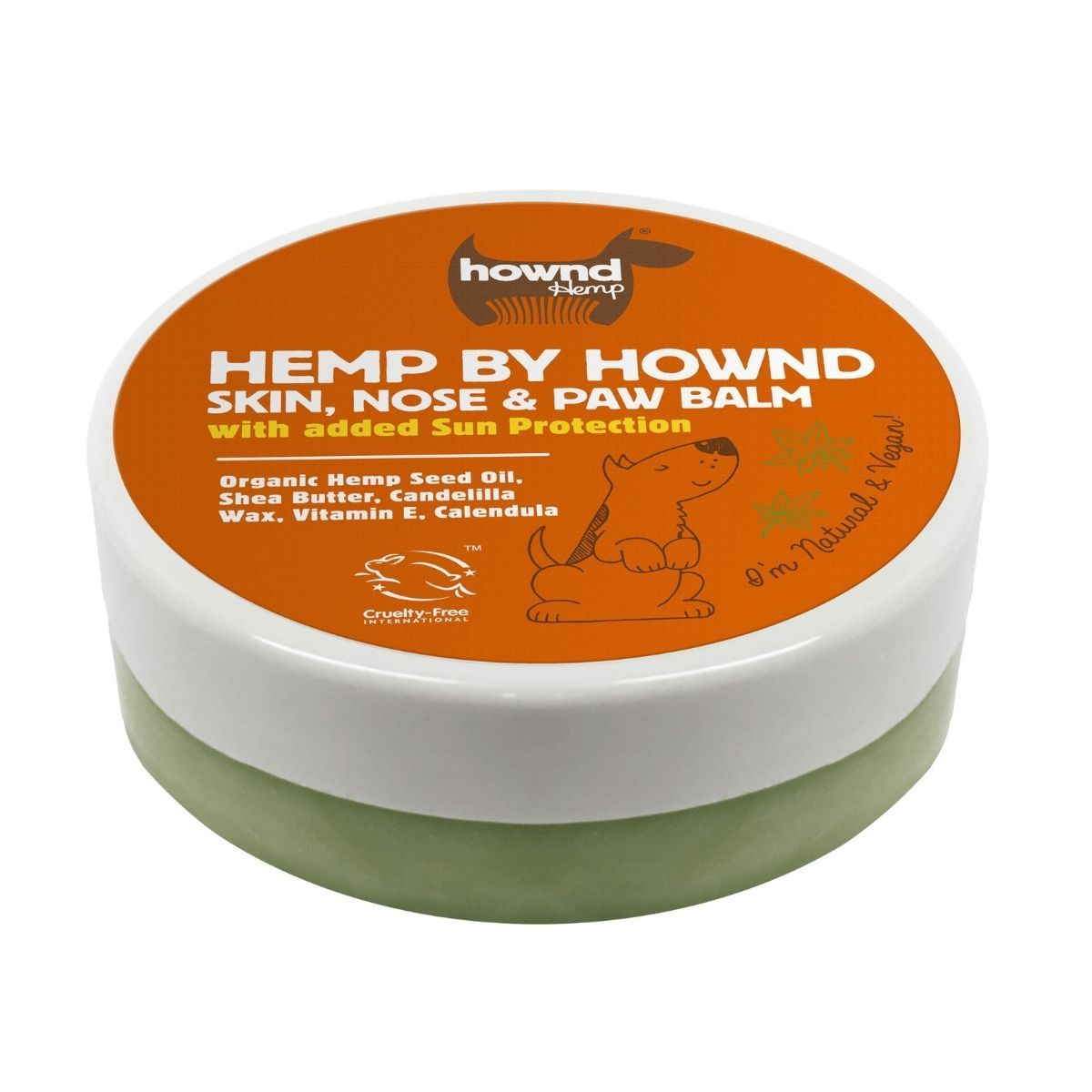 Hemp by Hownd Skin, Nose and Paw Balm with Sun Protection (50g) - Hownd