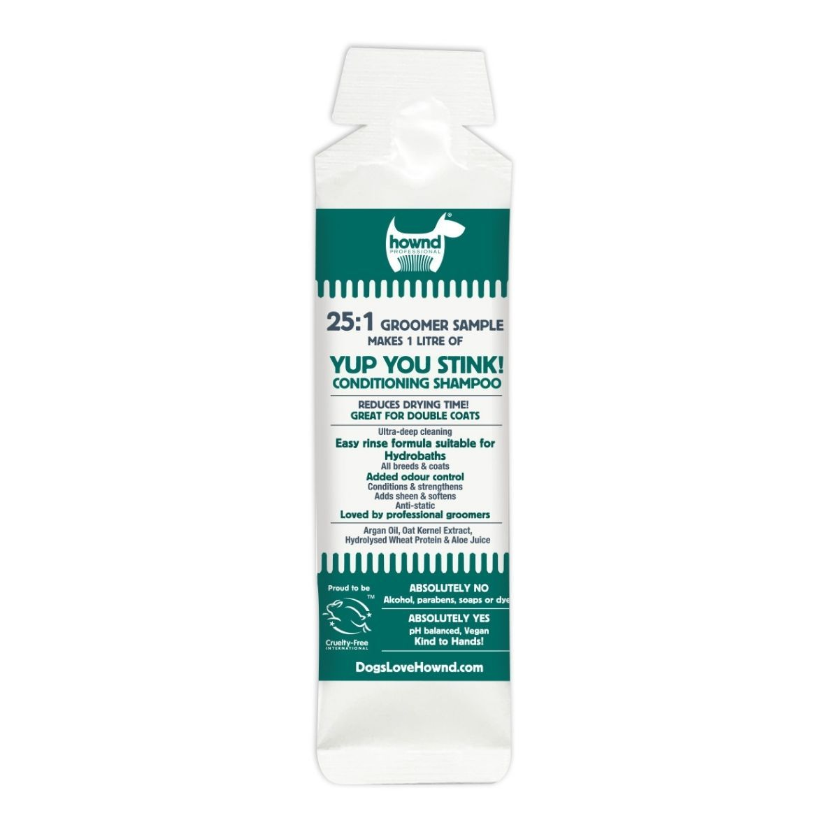 25:1 Yup You Stink! Conditioning Shampoo Sample (40ml) - Hownd