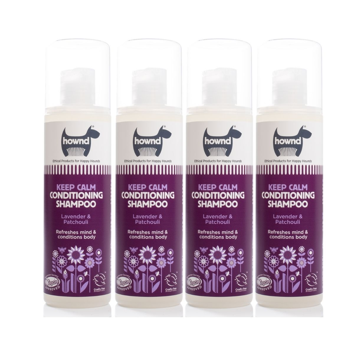 Keep Calm Conditioning Shampoo (250ml) x4 - Hownd