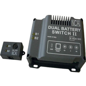 Dual battery switch II - Gestore batterie