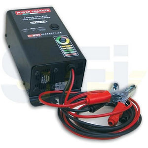 Power Charger Battery Caricabatteria con Desolfatore - Camper