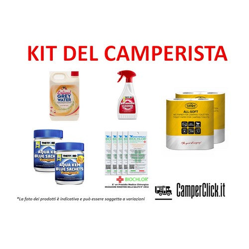 Kit del Camperista Esperto - by Camperclick