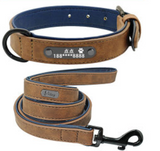 Anti Lost Dog lettering collar - overstocktarget
