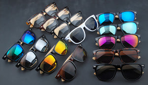 Men's Sports UV400 Wooden Sunglasses - overstocktarget