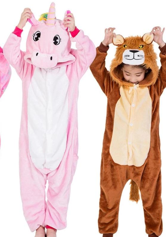 Kid's Hooded Onesie PJs - overstocktarget