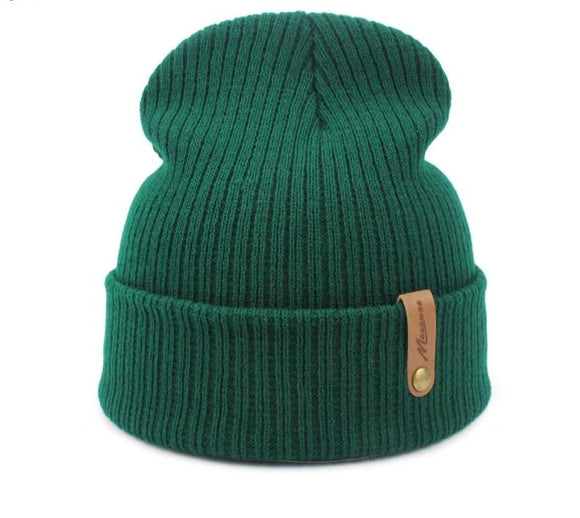 Unisex Knitted Winter Hats - overstocktarget