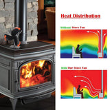 Heat Powered Stove Fan - overstocktarget