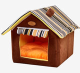 Foldable Warm Dog and Cat Pet Cave House - overstocktarget