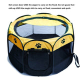Foldable Indoor Outdoor Pet Playpen - overstocktarget