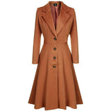 Women's High Quality Winter Long Trench Wool Coat --- Available In Plus Size - overstocktarget