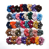 Scrunchies in Solid Fabric Colors - overstocktarget