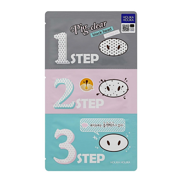 Holika Holika 豬鼻子黑頭三步驟 Pig Nose 3-Steps Black Head Remover