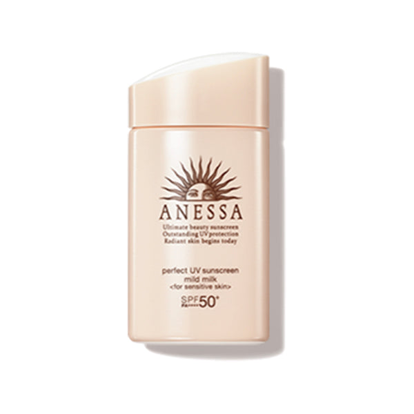 Anessa 安耐曬 金鑽高效敏感肌防曬露 Perfect UV Sunscreen Skincare Mild Milk 60g