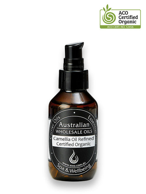 Camellia Oil Refined Certified Organic 100ml