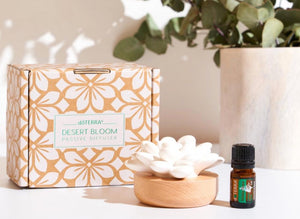 dōTERRA Desert Bloom Passive Diffuser + 5ml Holiday Peace