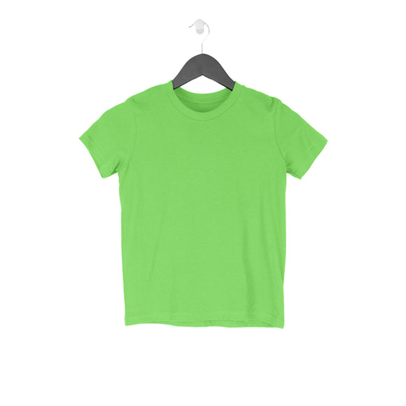 Kid's T-Shirt, Round neck, 17 colors, Plain.