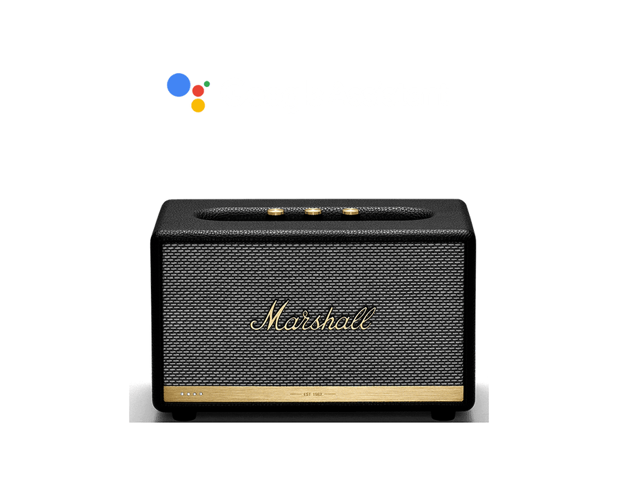 Marshall Acton II Voice Speaker with the Google Assistant