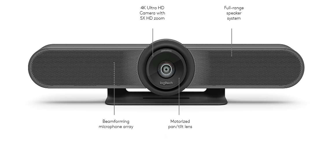 Logitech MeetUp All-In-One 4K ConferenceCam with 120¡ FOV Lens