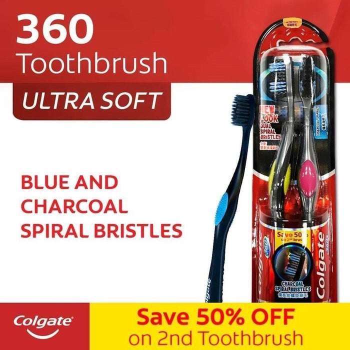 COLGATE (360 Charcoal Toothbrush)