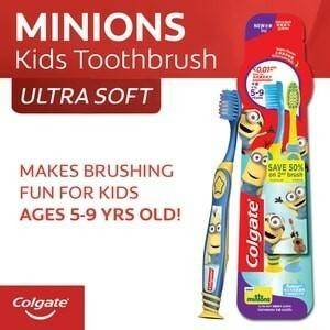 COLGATE (Tooth Brush Youth Minions Pack of 2)