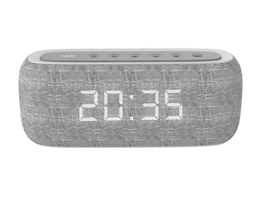Havit M29 Wireless Speaker with Dual Alarm Clocks