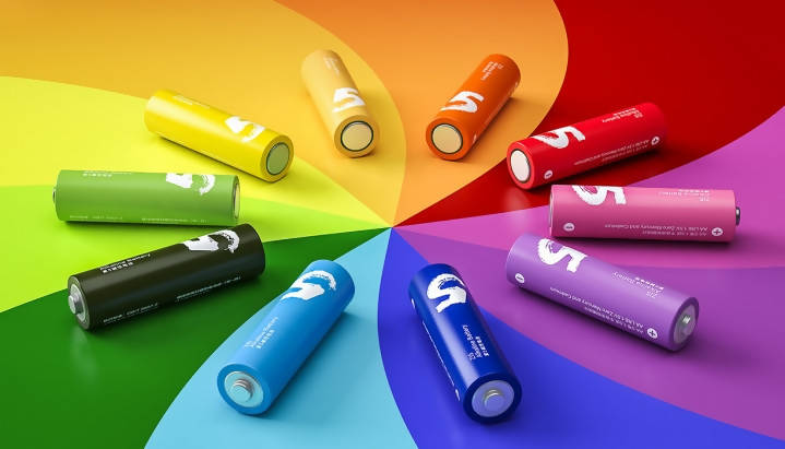 Xiaomi Rainbow Alkaline 1.5V Battery AA ZI5 & AAA ZI7 10pc Set