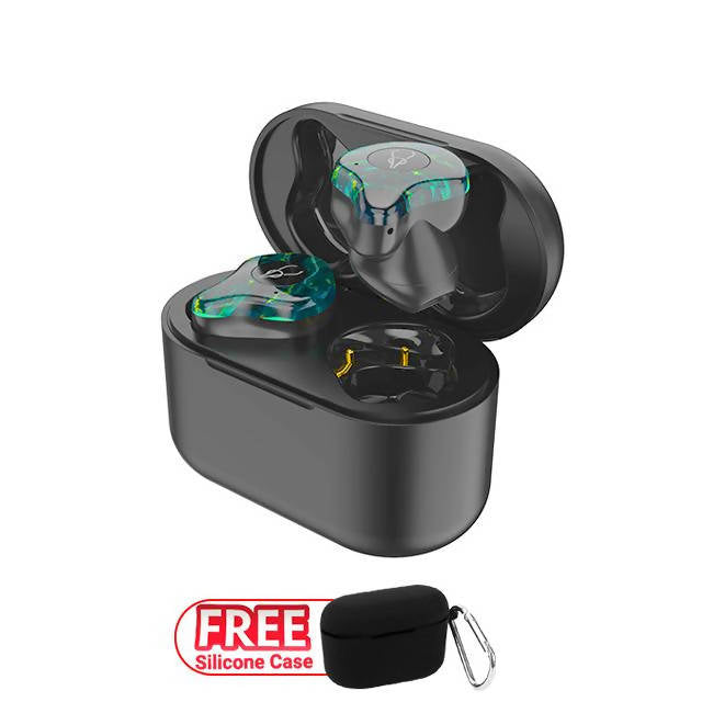 Sabbat X12 Ultra Marble Series TWS Earbuds with Free Silicone Case